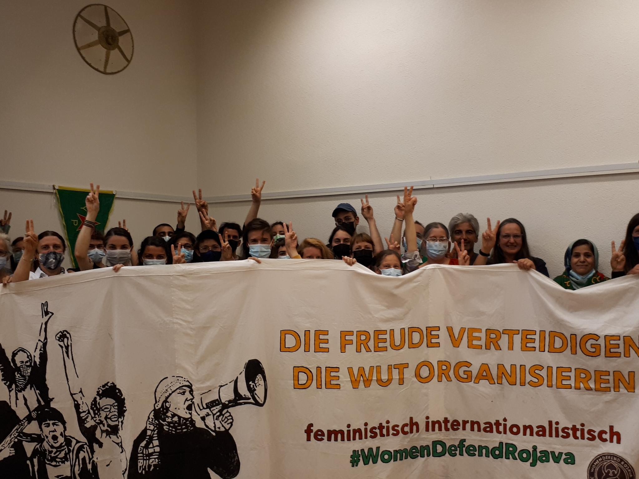 Read more about the article In Solidarität mit Lina und ihren Genossen der Antifa Ost