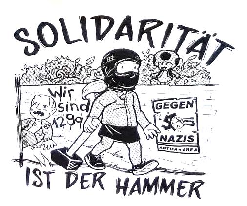 Read more about the article Solidaritätskoordination Thüringen: Solidaritätserklärung der SoKo Thüringen